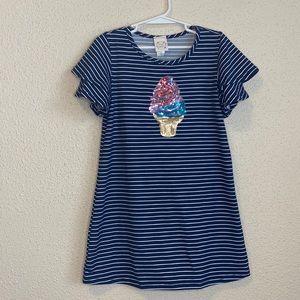 Girls tshirt dress